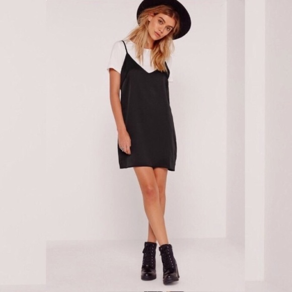 spaghetti strap dress with t shirt